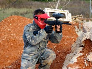 Paintball aire comprimido